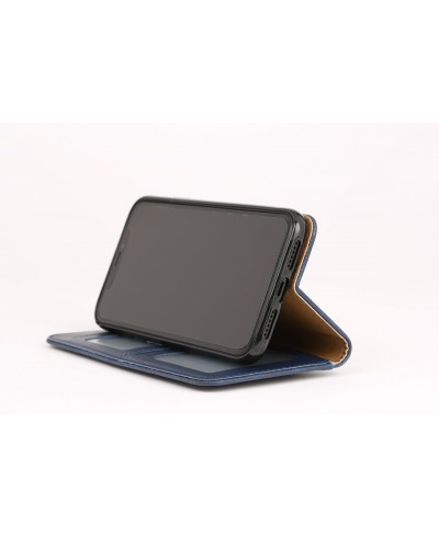 Wallet Leather with Extra Card Case - Apple
